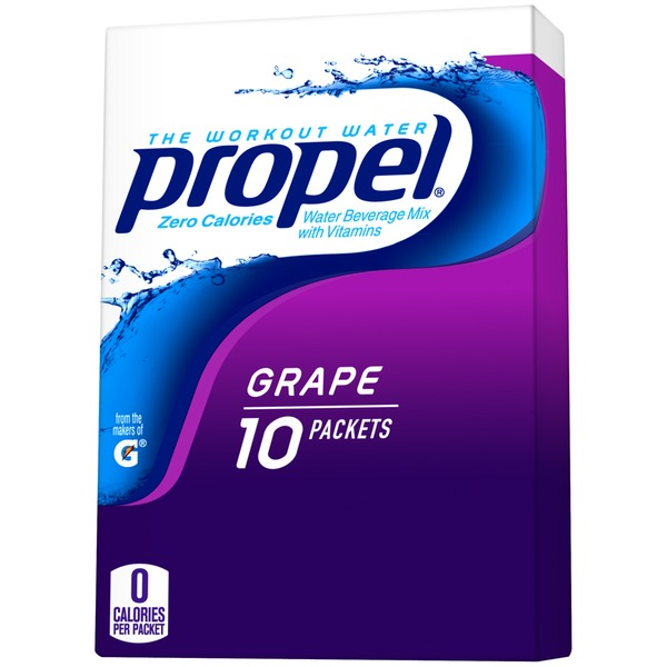 Propel Grape Nutrient Enhanced Water Beverage Mix