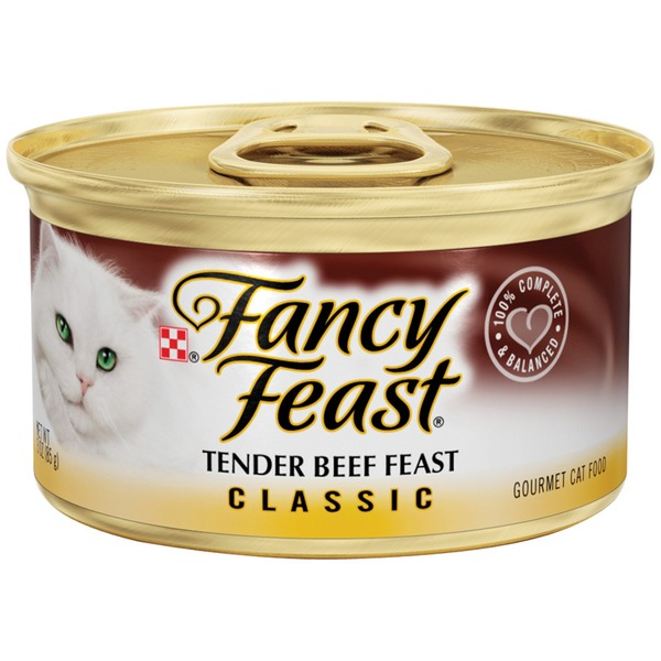 Fancy Feast Wet Classic Tender Beef Feast Cat Food