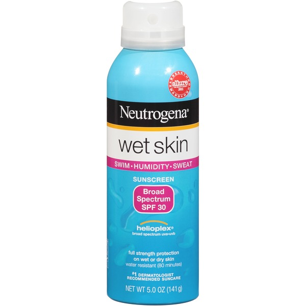 Neutrogena® Wet Skin Sunscreen, Broad Spectrum SPF 30
