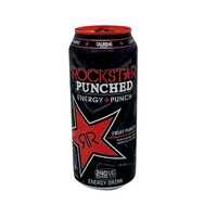 Rockstar Energy + Punch Drink Punched