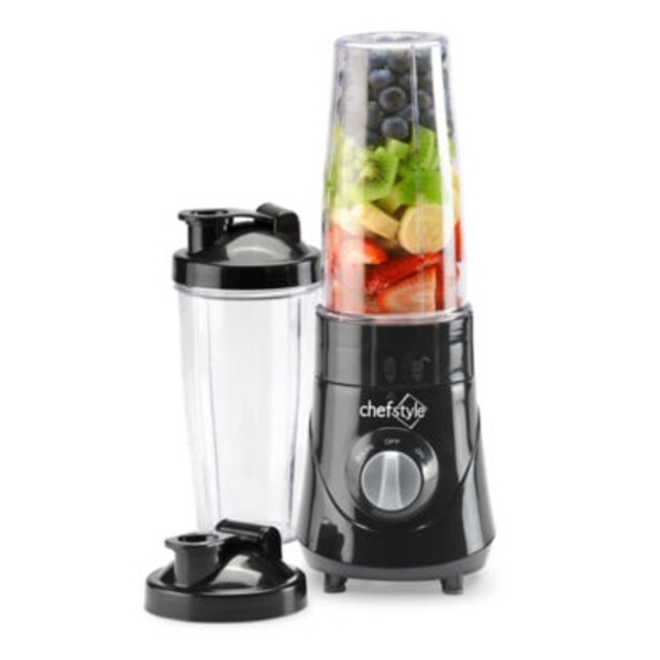 Chef Style On The Go Personal Black Blender