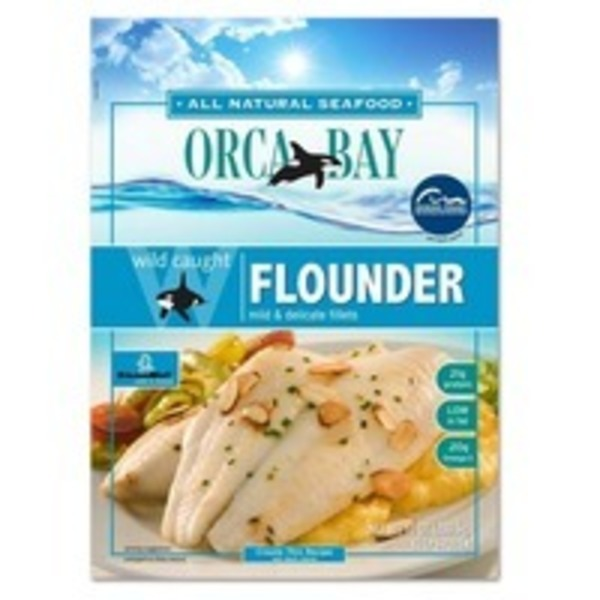 Orca Bay Seafoods Flounder, Wild Caught, Fillets