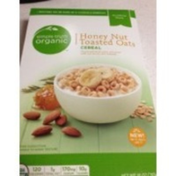 Simple Truth Organic Honey Nut Toasted Oats Cereal