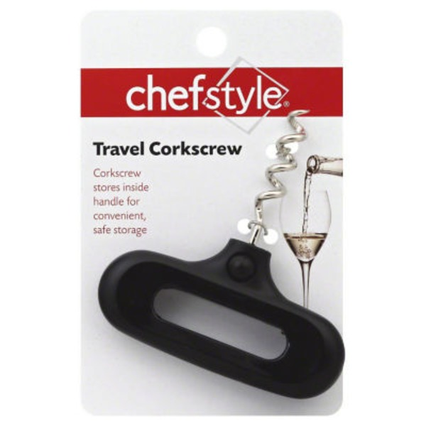 Chef Style Travel Corkscrew