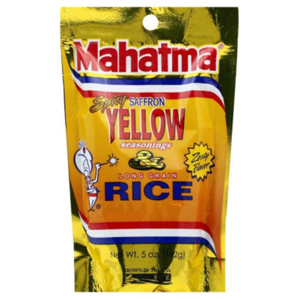Mahatma Long Grain Rice Spicy Saffron Seasonings