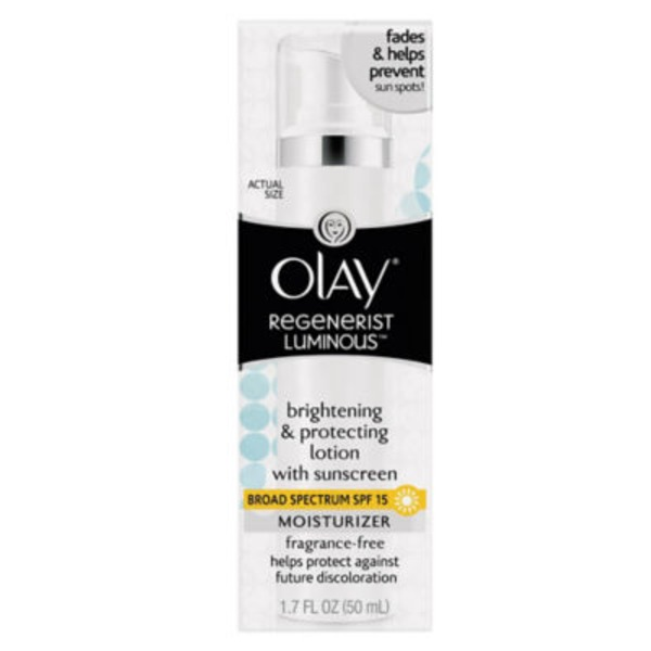 Olay Luminous Olay Luminous Brightening And Protecting Face Lotion With SPF 15, Fragrance-Free 1.7 fl oz Female Skin Care