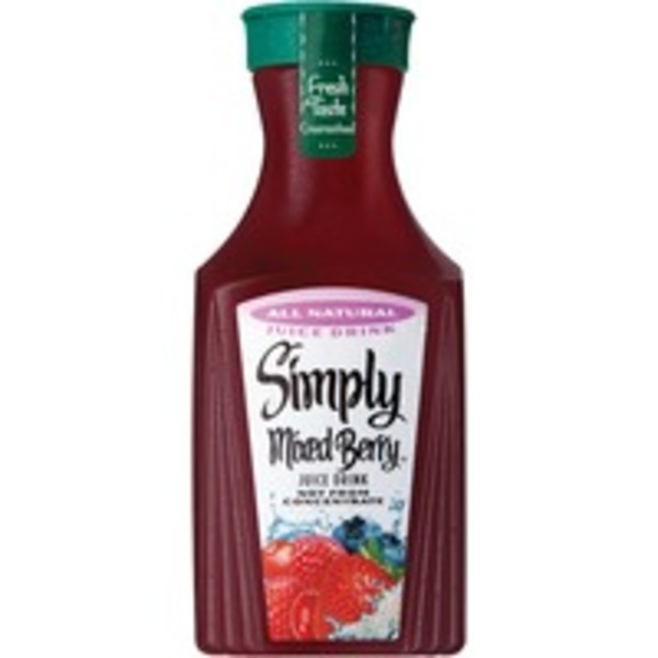 Simply Beverages Mixed Berry Juice Drink