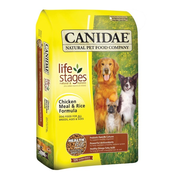 Canidae Life Stages Chicken Meal & Rice Formula Dog Food for All Breeds, Ages & Sizes
