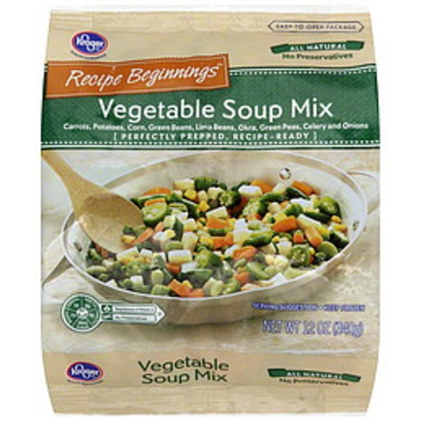 Kroger Vegetable Soup Mix