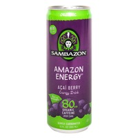 Sambazon Organic Original Amazon Energy Acai Berry Energy Drink
