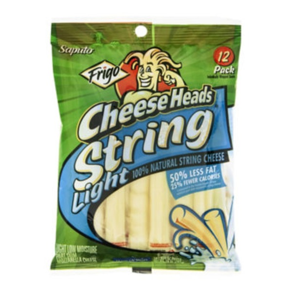 Frigo® Cheese Heads® Light String Cheese