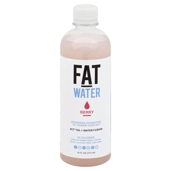 Fat Water Mct Oil Berry Water