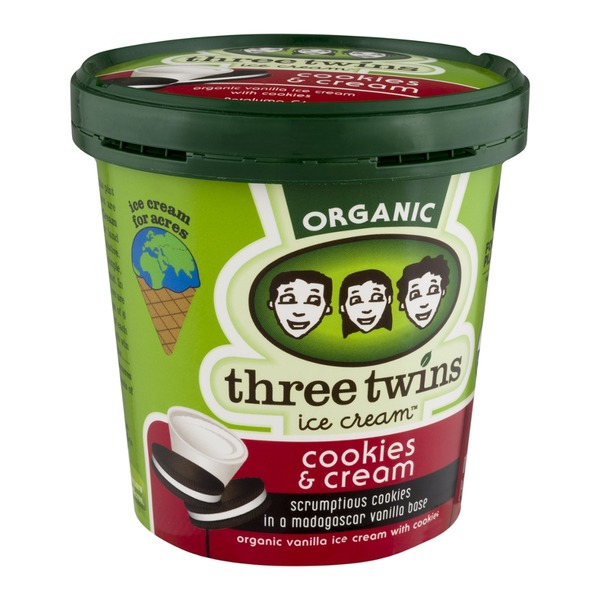 Three Twins Organic Cookies & Cream