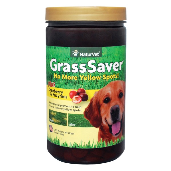 NaturVet Grass Saver Dog Wafers