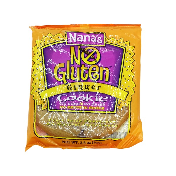 Nana's No Gluten Ginger Cookie