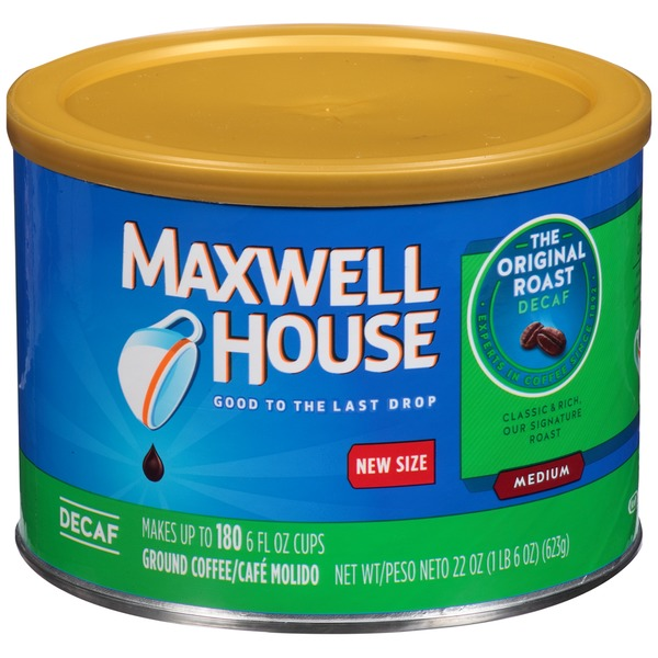 Maxwell House Original Roast Decaf Medium Coffee