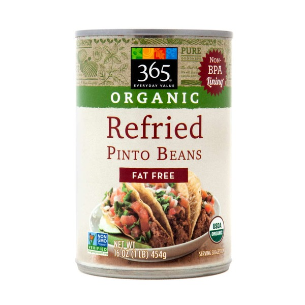 365 Organic Refried Pinto Beans Fat Free