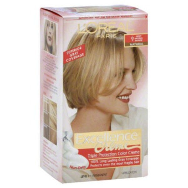 Excellence Creme Triple Protection Light Natural Blonde Natural 9 Hair Color