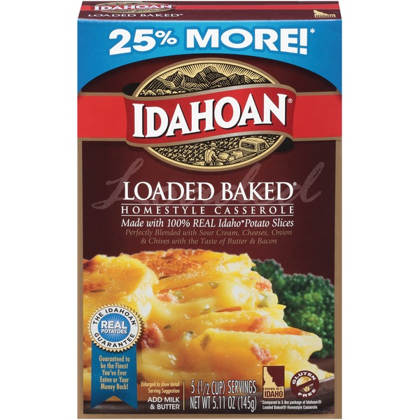 Idahoan Loaded Baked Homestyle Casserole