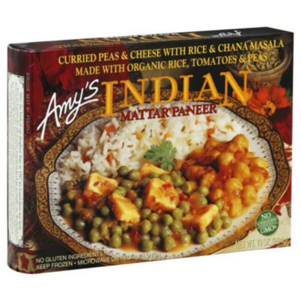 Amy's Gluten Free Indian Mattar Paneer