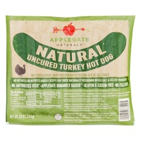 Applegate Naturals Natural Uncured Turkey Hot Dogs