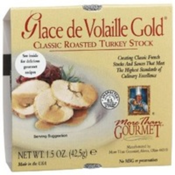 More Than Gourmet Glace De Volaille Gold Roasted Turkey Stock