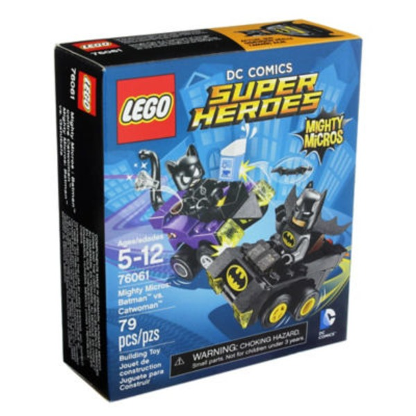 Lego Dc Comics Super Heroes Mighty Micros: Batman Vs Catwoman