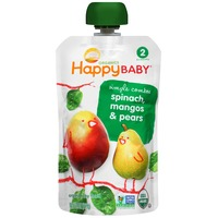 Happy Baby/Family Simple Combos Spinach, Mangos & Pears Organic Baby Food