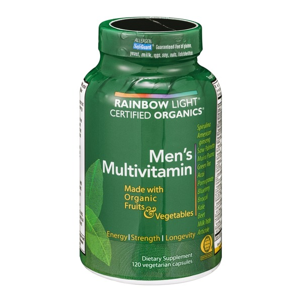 Rainbow Light Men's Multivitamin Vegetarian Capsules - 120 CT