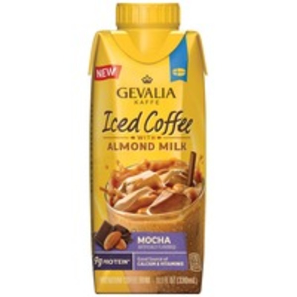 Gevalia Mocha with Almond Milk Iced Coffee