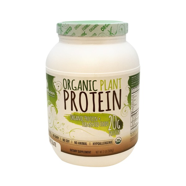 PlantFusion Organic Chocolate Plant Protein