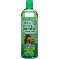 Tropiclean Fresh Breath Natural Green Tea Oral Care Water Additive For Dogs