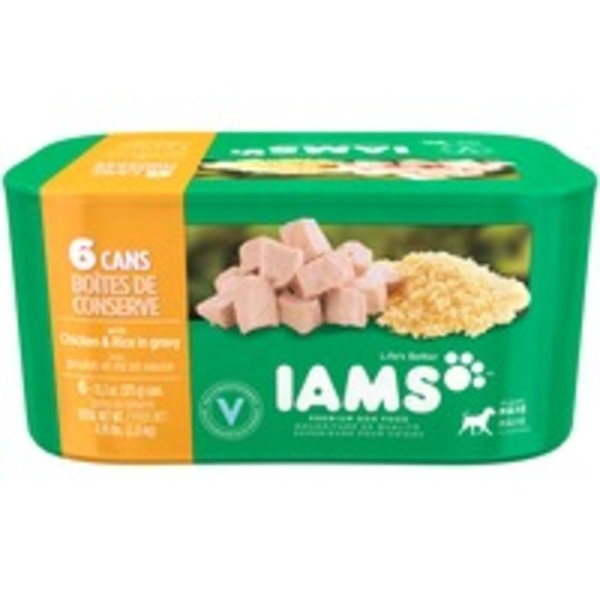 Iams Proactive Health Páté with Chicken & Whole Grain Rice Dog Food