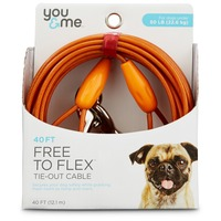 You & Me Free to Flex Tie-Out Cable