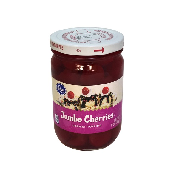 Kroger Jumbo Cherries Dessert Topping