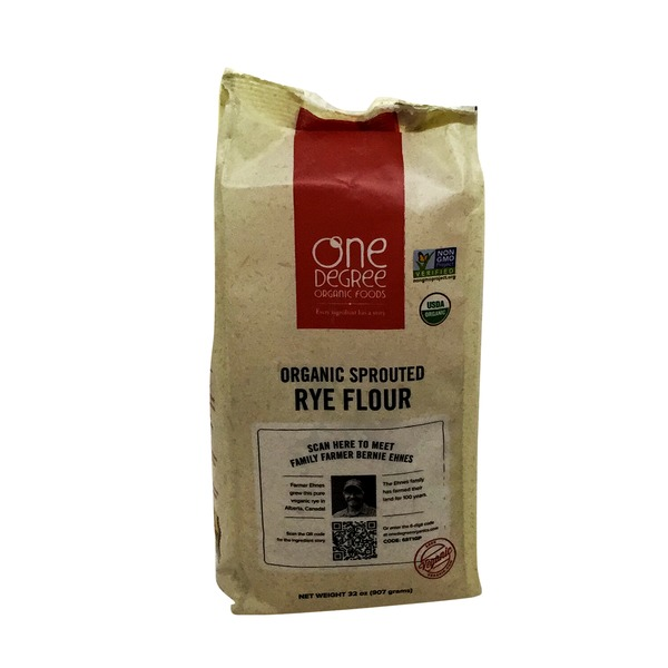 One Degree Organics Rye Flour, Organic Sprouted