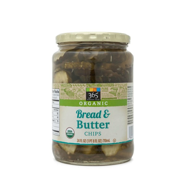 365 Organic Bread And Butter Pickle Chips