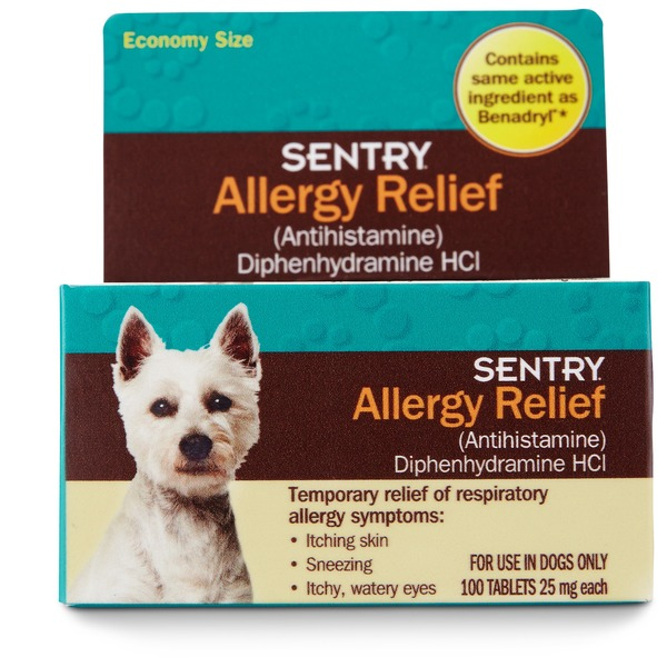 Sentry Pro Allergy Relief Dog Tablets