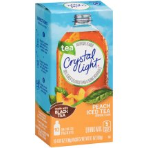 Crystal Light On-The-Go, Peach Tea, 10 x 0.07 Oz, 1 Count