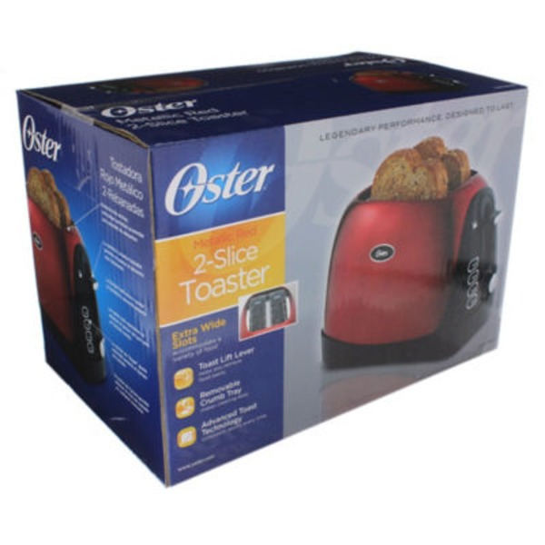 Oster Red 2 Slice Toaster