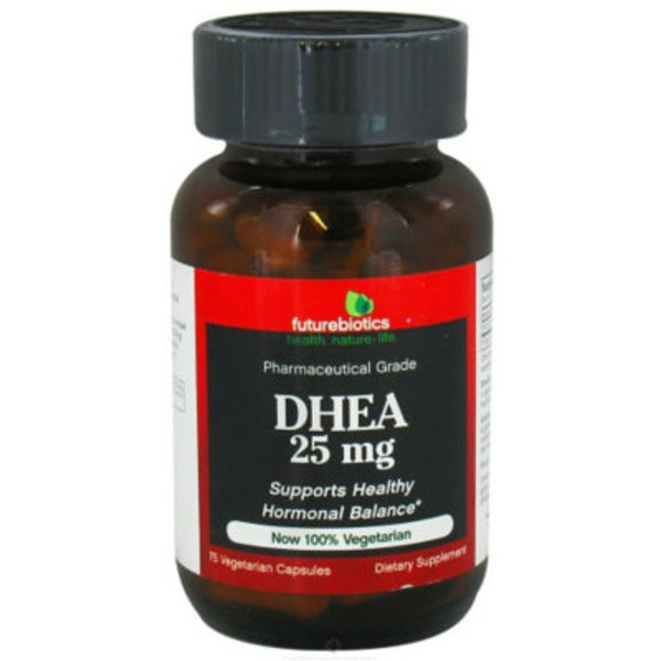 Futurebiotics Dhea 25 Mg Capsules