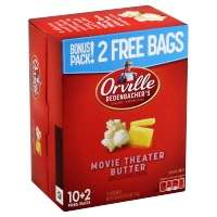 Orville Redenbachers Popcorn Movie Theatre Butter - 12