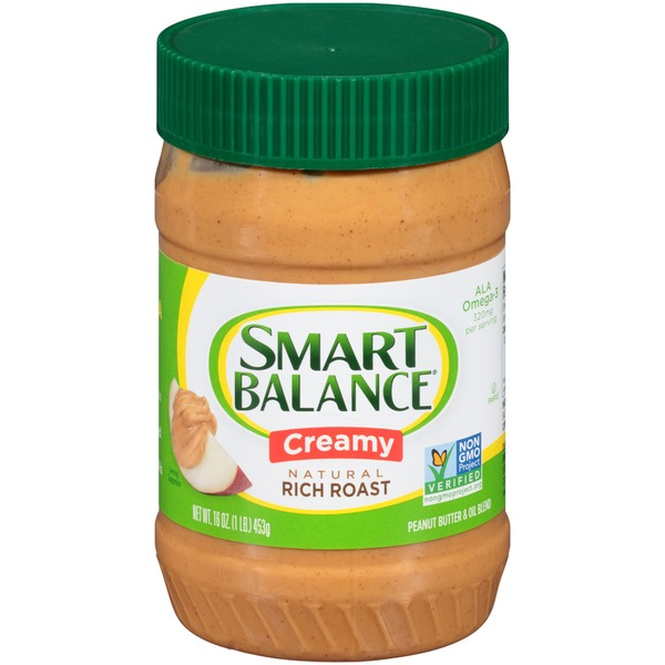 Smart Balance Rich Roast Creamy Peanut Butter