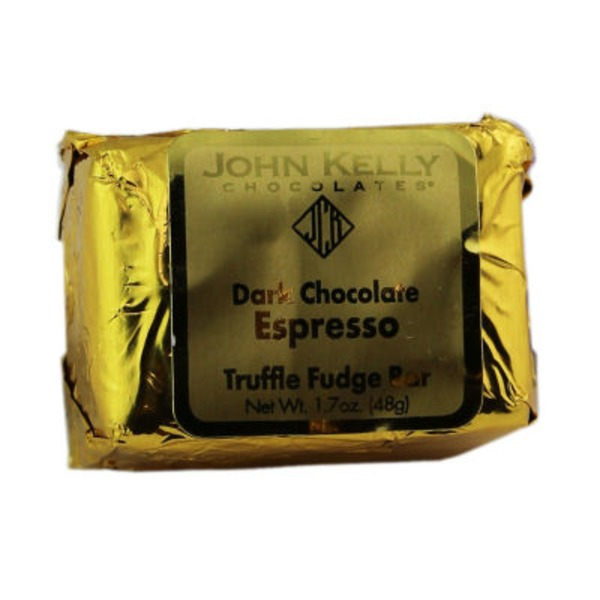 John Kelly Chocolate Dark Chocolate Espresso Bar