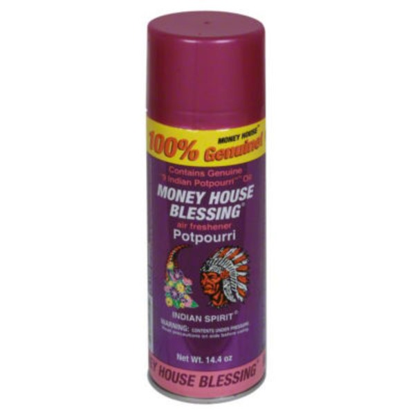 Money House Blessing Indian Spirit Air Freshener