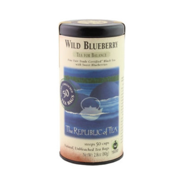 The Republic of Tea Wild Blueberry Black Tea