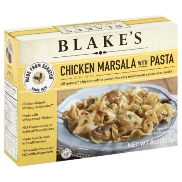 Blake's Chicken Marsala with Pasta