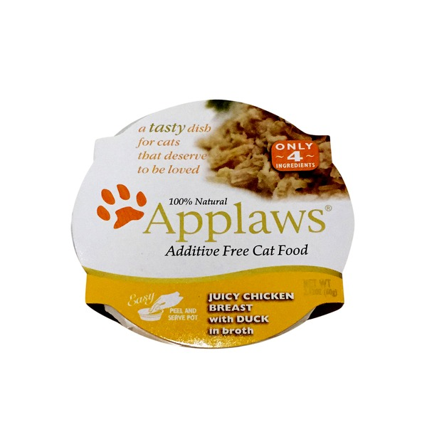 Applaws Juicy Chicken Breast With Duck in Broth Cat Food