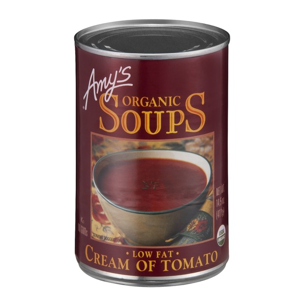 Amy's Organic Soups Low Fat Cream Of Tomato