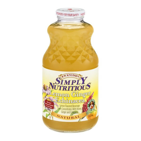 R.W. Knudsen Family Simply Nutritious Lemon Ginger Echinacea Natural
